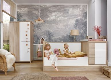 Children's bedrooms - Compact baby bed (available in 2 colors) SACHA - GALIPETTE