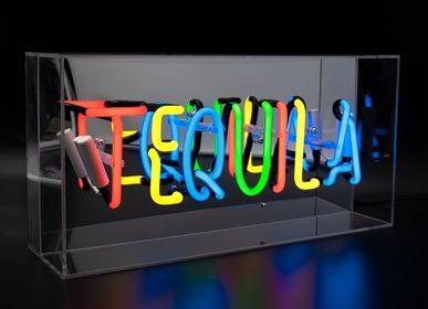 Objets de décoration - 'Tequila' Boîte en acrylique néon - LOCOMOCEAN