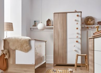 Children's bedrooms - Cot (available in 2 colors) SACHA  - GALIPETTE