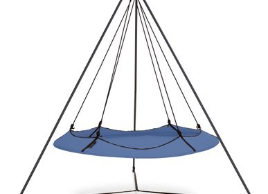 Sofas -  Ink Blue Hangout Pod Set - HANGOUT POD