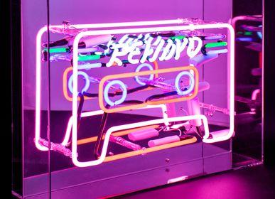 Decorative objects - 'Cassette' Acrylic Box Neon Light - LOCOMOCEAN