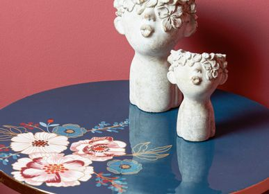 Decorative objects - Faces Pot Covers - AMADEUS