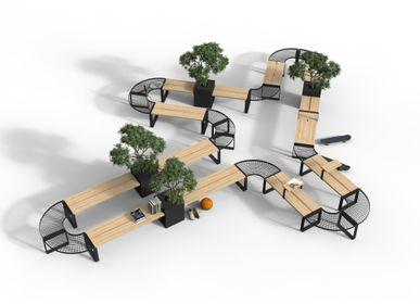 Equipement espace extérieur - Central furniture system  - NOLA INDUSTRIER AB