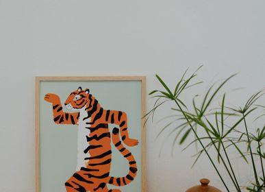 Affiches - Affiches animaux, tigre, guepard, singe - SHANDOR