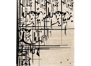 Design - BLACK INK TAPIS - RUG'SOCIETY