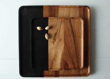 Trays - two tone tray - KIDDEE TAMDEE