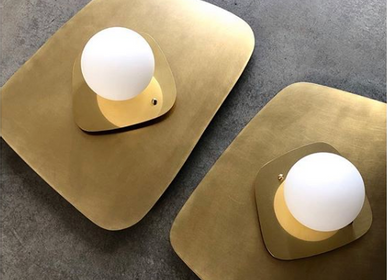 Wall lamps - Brass wall light - FLOATING HOUSE COLLECTION