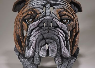 Decorative objects - Bulldog Bust - EDGE SCULPTURE