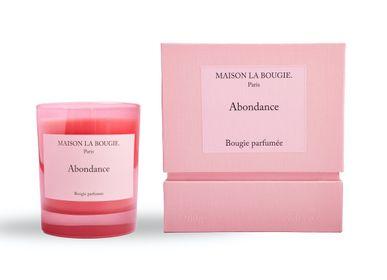 Bougies - Bougie ABONDANCE 200g - MAISON LA BOUGIE