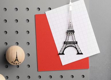 Decorative objects - Eiffel Tower stainless steel magnet - TOUT SIMPLEMENT,