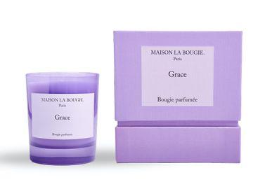 Bougies - Bougie GRACE 200g - MAISON LA BOUGIE
