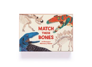 Games - Match These Bones: A Dinosaur Memory Game - LAURENCE KING PUBLISHING LTD.