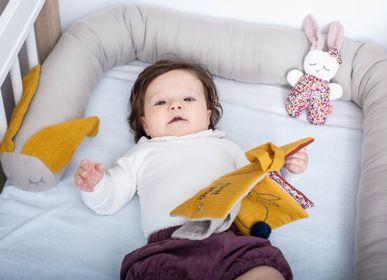 Soft toy - Comforter and plush in organic cotton - KIKADU