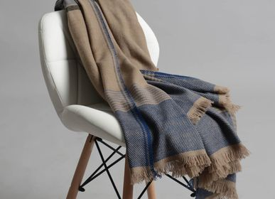 Throw blankets - Igor Cashmere Throw - SADHU HANDMADE NATURALS