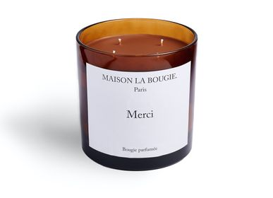 Bougies - Bougie MERCI 1,4kG - MAISON LA BOUGIE