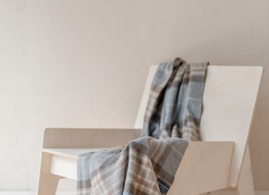 Plaids - Couverture en laine d'agneau in Mackellar Tartan - THE TARTAN BLANKET CO.