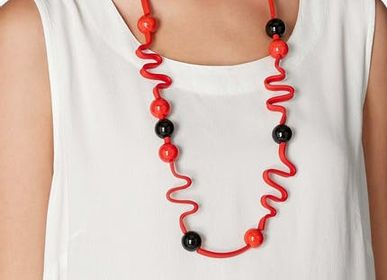 Jewelry - Graphic Long Necklace - SAMUEL CORAUX - PARIS