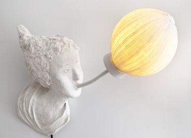 Wall lamps - Blower, luminous wall lamp - PAPIER À ÊTRES