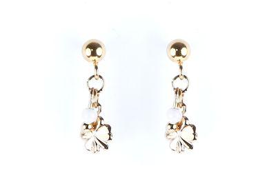 Jewelry - Mini clover earrings - LITCHI