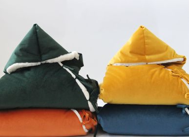 Vêtements de nuit -  BABY SLEEPING BAG ORANGE VELVET - PETIT ALO