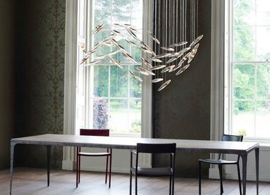 Pendant lamps - moonlight Murmuration installation - OCHRE