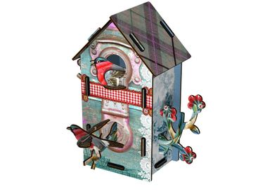 Other wall decoration - Playmates - Decorative birdhouse - MIHO UNEXPECTED THINGS