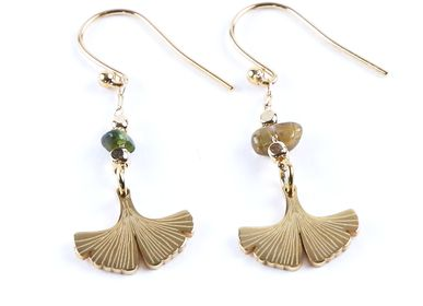 Jewelry - Small Ginkgo earrings - LITCHI