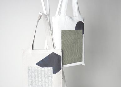 Bags and totes - Monsilk™ Thai Minimalist upcycling shopping bags  - THE CARPET MAKER