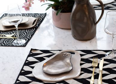 Placemats - Placemat Black&White  | Set of 4pc - DUTCHDELUXES