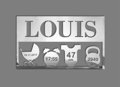 Decorative items - Personalized child plaque - LEFEVRE PARIS