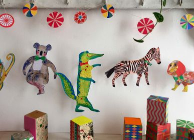 Anniversaires - Cut and Make Animal Puppets - WINI-TAPP