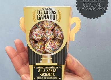 Cadeaux -  Prix «Vous le méritez» - Gummies - Version espagnole - DESIGNER SOUVENIRS