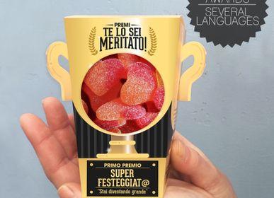 Cadeaux - Prix «Vous le méritez» - Gummies - Version italienne - DESIGNER SOUVENIRS