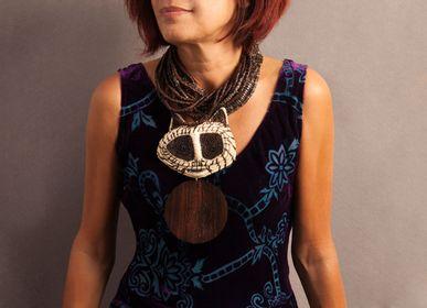 Bijoux - Collier Talisman - ETHIC & TROPIC CORINNE BALLY