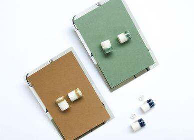Jewelry - TUBE ear studs - STUDIO INEKE VAN DER WERFF