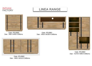 Console tables - LINEA  - INDIAN FACTORY