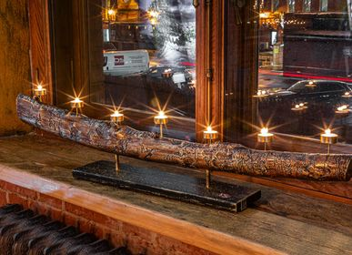 Decorative objects - Katana sword candle holder - ALEXANDER CHEGLAKOV