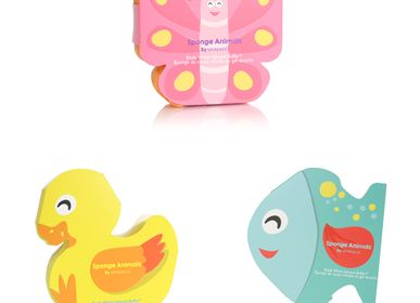 Soaps - Sponge Animals Assorted Pack - SPONGELLE