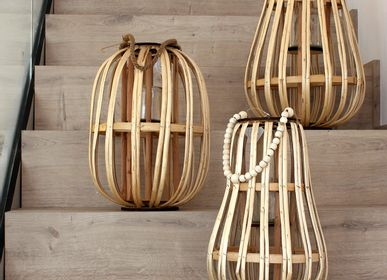 Decorative objects - Natural bamboo lanterns - WAX DESIGN - BARCELONA