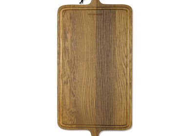 Barbecues - BBQ Board XL Rectangular | Smoked Oak - DUTCHDELUXES