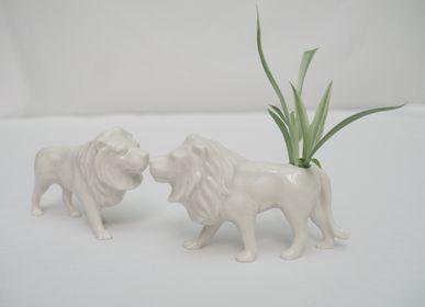 Céramique - Mini vase à fleurs Lion - YUKIKO KITAHARA