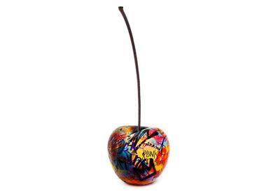 Garden accessories - graffiti cherry sculpture - BULL & STEIN