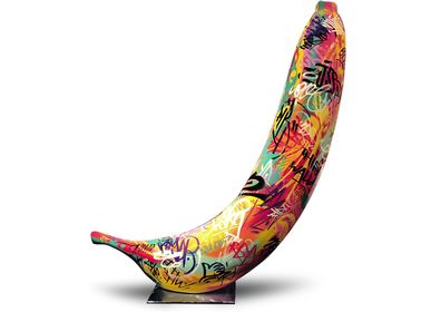 Customizable objects - graffiti banana sculpture - BULL & STEIN