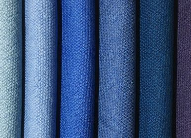 Foulards / écharpes -  Écharpe 100% Laine Mérinos/Bleu - MONTÓN DE TRIGO MONTÓN DE PAJA