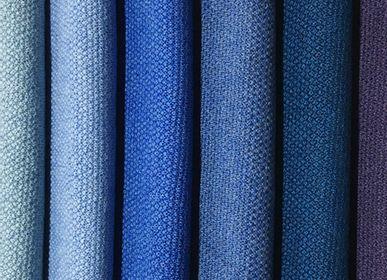 Scarves - Scarf 100% Merino Wool Blue - MONTÓN DE TRIGO MONTÓN DE PAJA