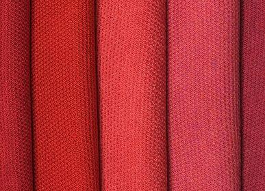 Scarves - Scarf 100% Merino Wool Red - MONTÓN DE TRIGO MONTÓN DE PAJA
