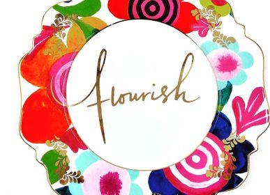 Decorative objects - 'Flourish' Side Plate - LYNDALT