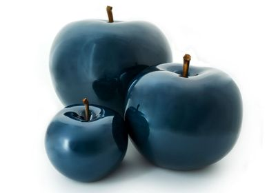 Ceramic - portuguese faïence fruit sculptures - BULL & STEIN