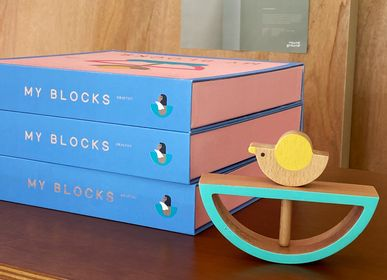 Jouets - MY BLOCKS (wooden toys) - ROUND GROUND