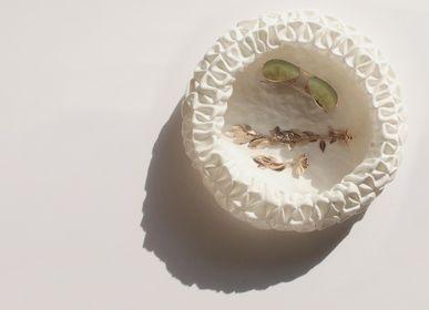Pièces uniques - Capella / Panière souple fait main en chanvre  - MOLFO